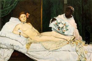 Olympia, Edouard Manet